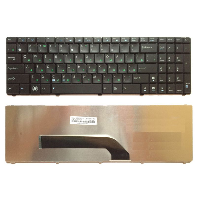 Клавиатура для Asus K50, K50I, K50IJ, K50C, K50IN (MP-07G73SU-5283, V090562BS1)