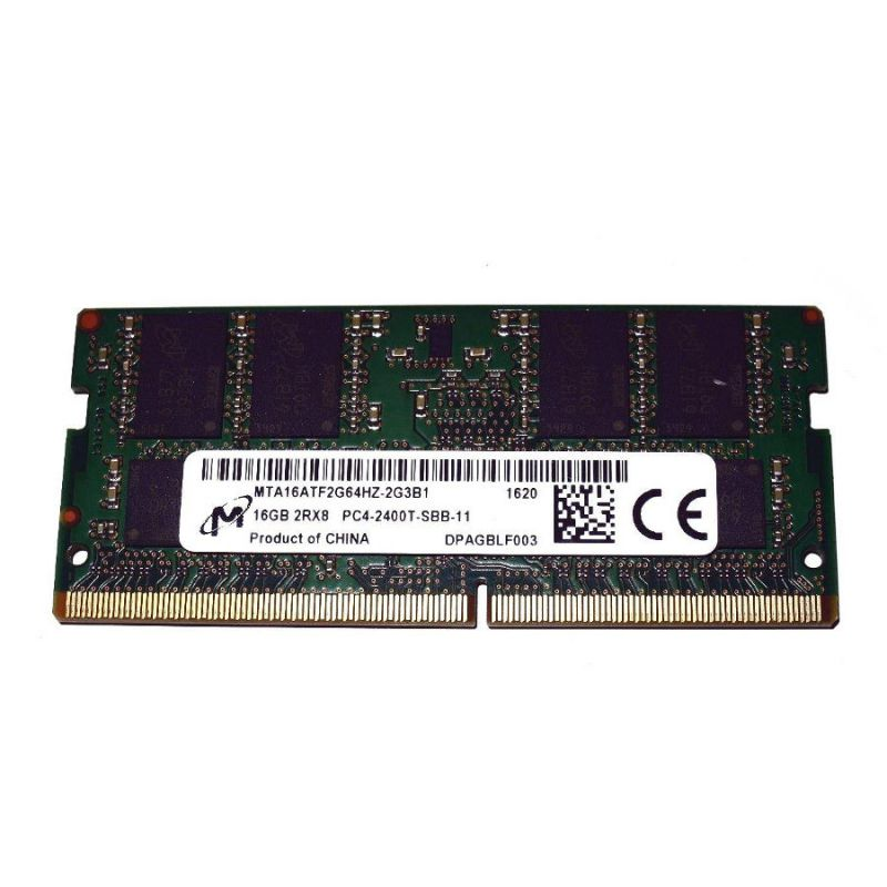 Модуль памяти 16Gb DDR4 2400МГц SO-DIMM Micron MTA16ATF2G64HZ-2G3B1