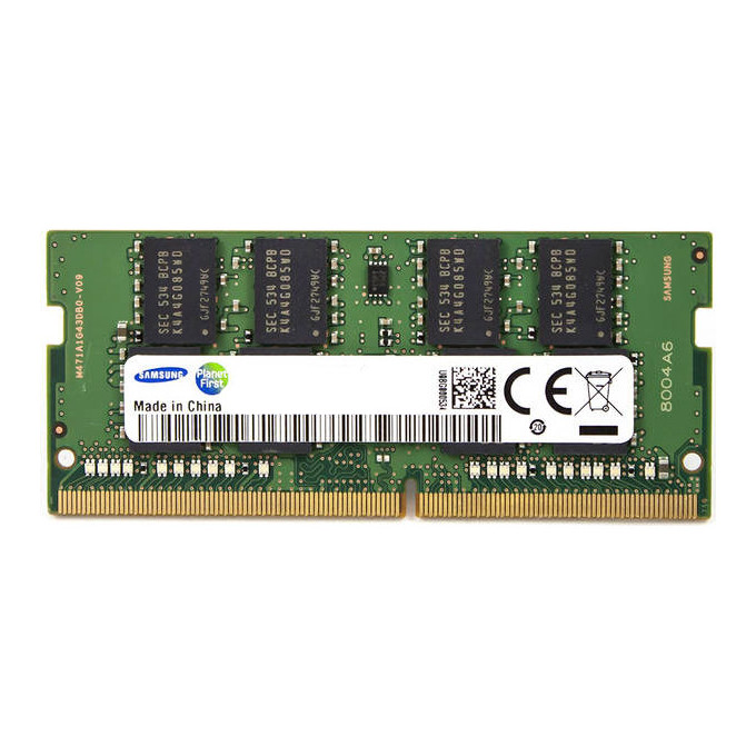 Модуль памяти 16Gb DDR4 2400МГц SO-DIMM Samsung M471A2K43BB1-CRC